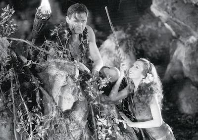 A scene from Four Frightened People. (Credit: UCLA Film & Television Archive)