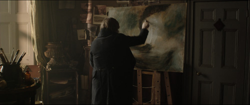 Frame grab from Mr Turner-