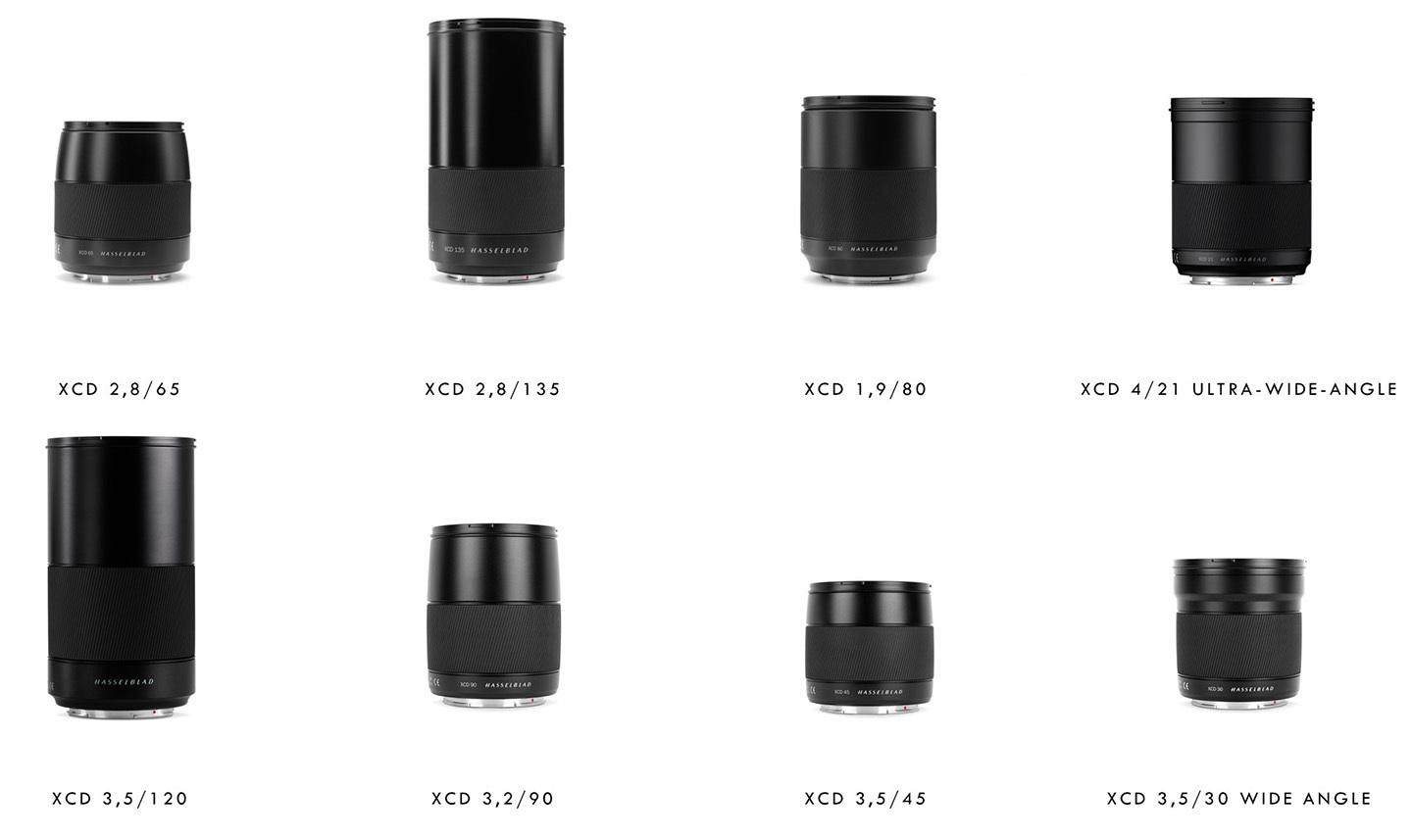 Hasselblad Intros XCD 1,9/80, XCD 2,8/65 and XCD 2,8/135