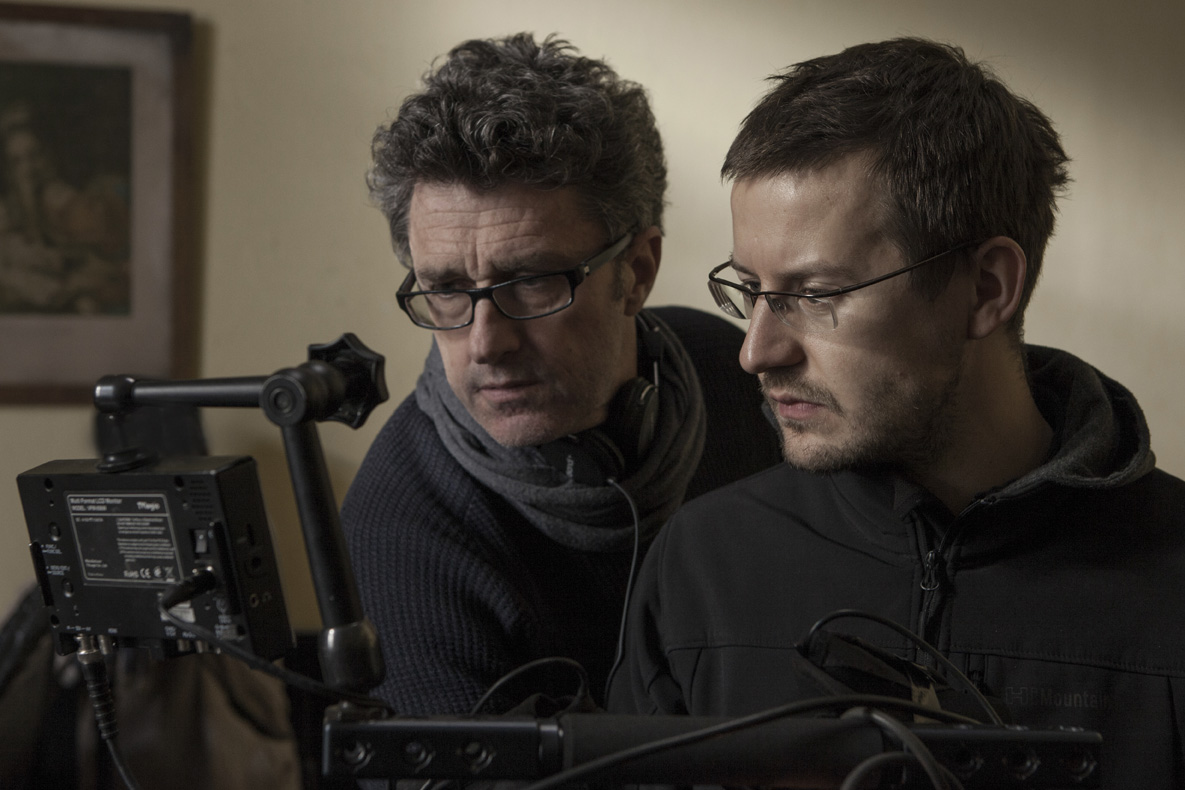 IDA Director Pawel Pawlikowski and cinematographer Lukasz Zal, PSC