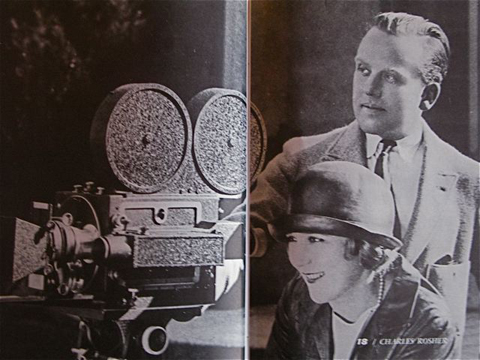 Charles Rosher and Mary Pickford.