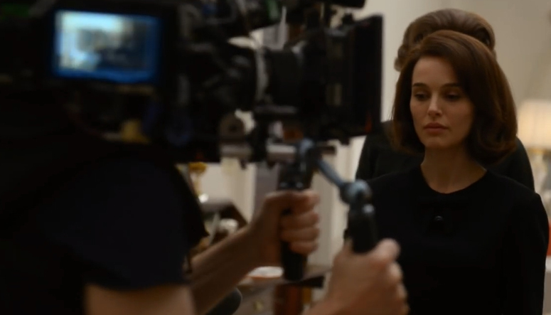 Natalie Portman near camera (from featurette)