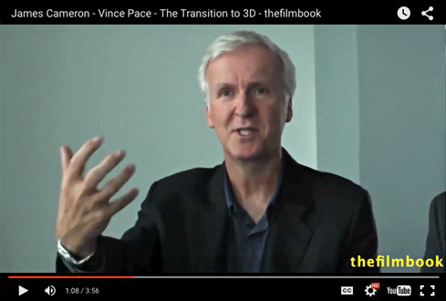 James Cameron -The Transition to 3D -interview by Benjamin B -thefilmbook