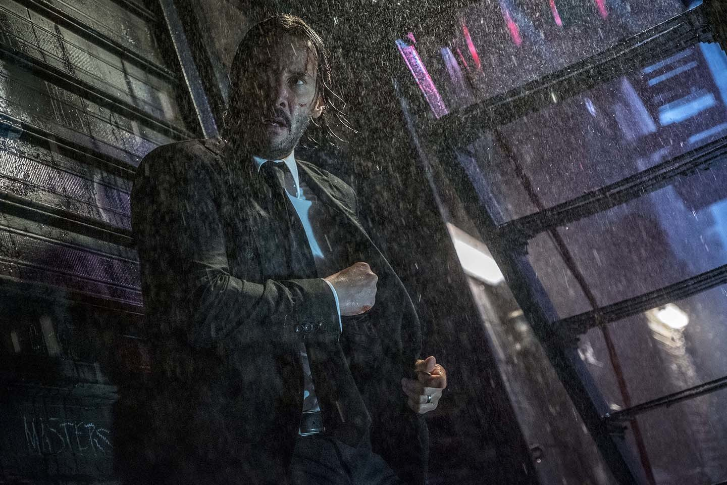 Slayin' in the Rain: John Wick Chapter 3 — Parabellum - The American