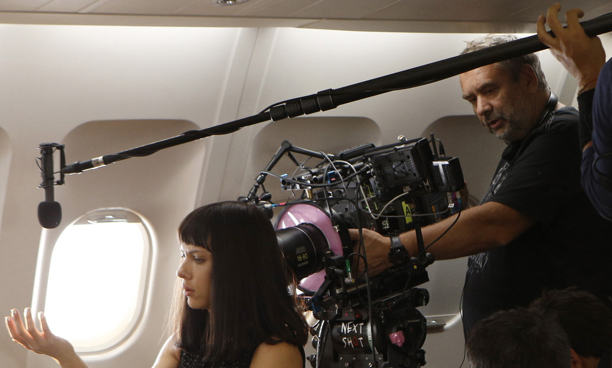 Luc Besson operating on Lucy