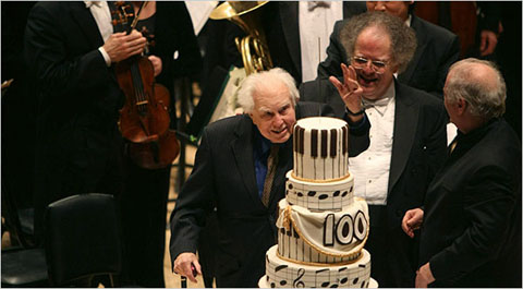 Carter, Levine, Barenboim—Carnegie Hall, Dec. 11, 2008