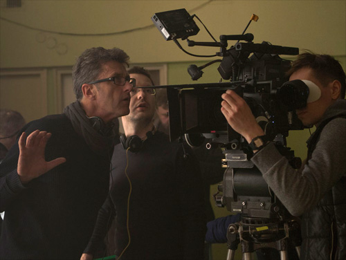 Pawel Pawlikowski and Lukasz Zal on set of IDA -thefilmbook v2