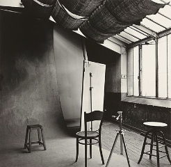 Irving Penn's Paris studio, Sept. 12, 1950.