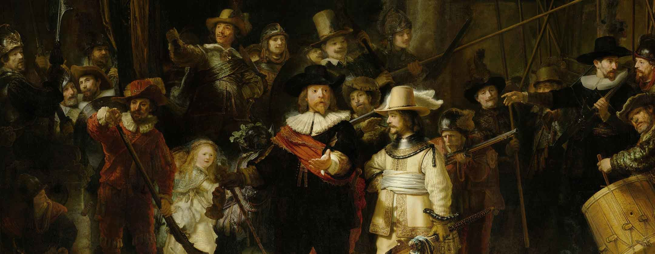 Rembrandt The Nightwatch By Rembrandt