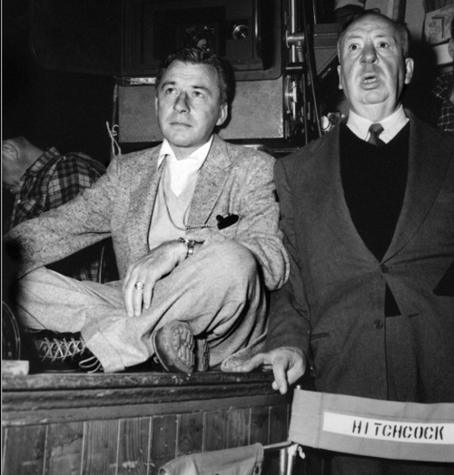 Robert Burks, ASC, and Alfred Hitchcock-