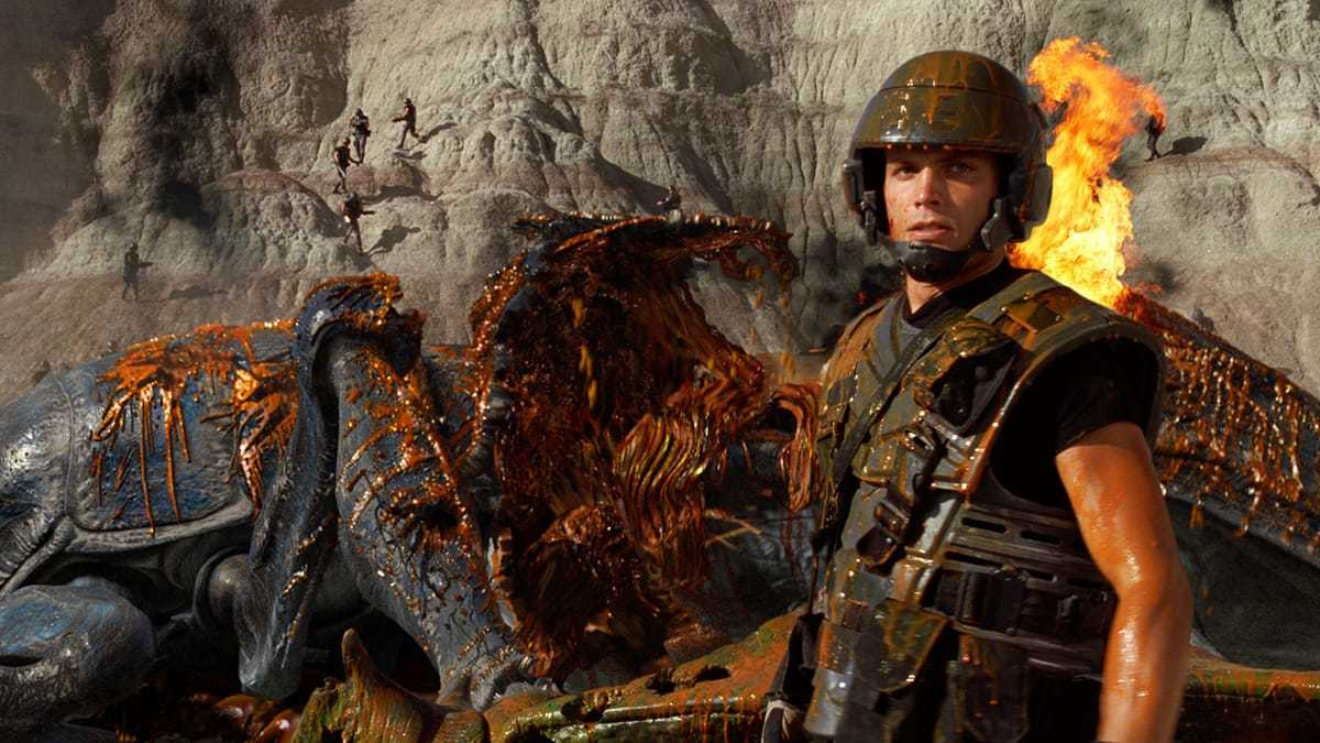 Starship Troopers Dead Bug