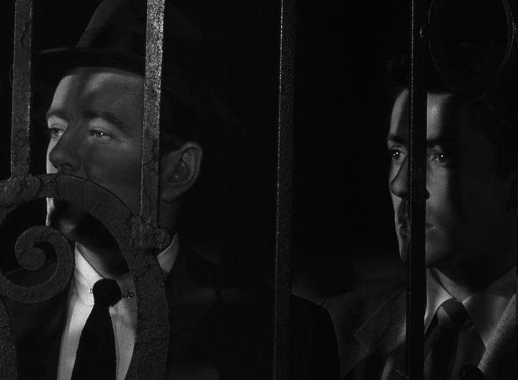 Strangers on a Train - behind bars -thefilmbook