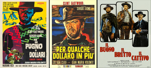 The Dollars Trilogy - Sergio Leone -thefilmbook-