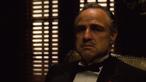 The Godfather played by Marlon Brando -Gordon Willis tribute -thefilmbook-