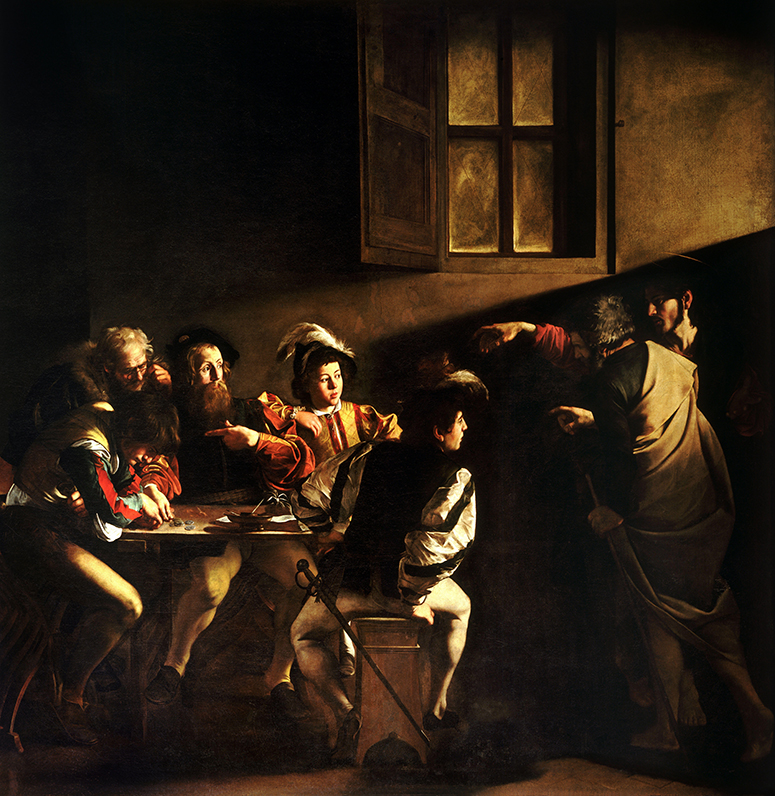 Caravaggio's The Calling of St. Matthew