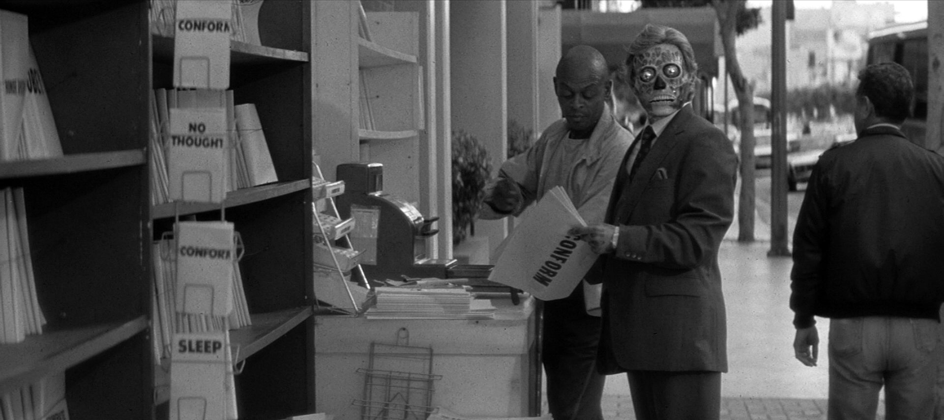They Live Newsstand