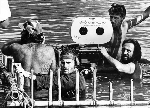 Vilmos Zsigmond behind the camera on Deer Hunter by Cimino-