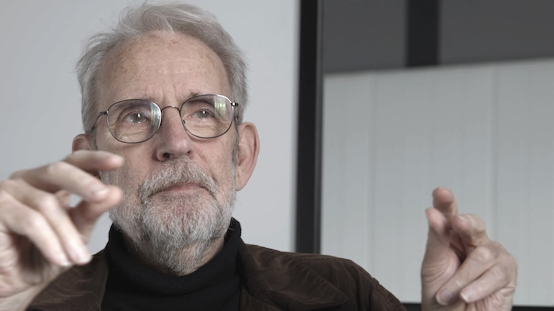 Walter Murch during our interview at  Camerimage