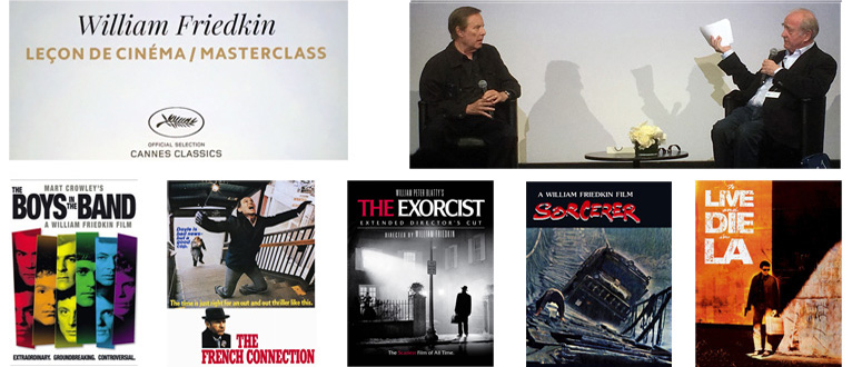 William Friedkin Master Class - Cannes 2016 -thefilmbook feat
