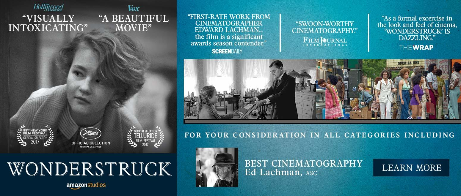 Wonderstruck 2017 Amazon Awards Asc Wonderstruck 1550X660 03Br 2