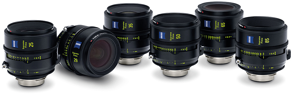 Zeiss Supreme Prime Lens Family Header