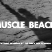 Joseph Strick at Muscle Beach