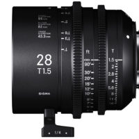 Sigma 28mm T1.5 FF Cine Lens Due in March