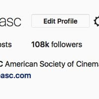 Jo Willems, ASC, SBC Curates ASC's Instagram