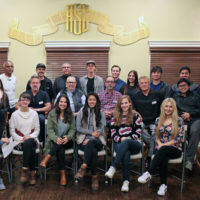 Loyola Marymount Students Meet Members at ASC Clubhouse