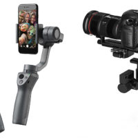 DJI Ronin-S and Osmo Mobile 2