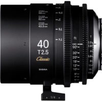 Sigma Ready to Ship Classic Art Primes, Cine Art Primes
