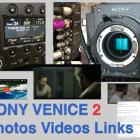 VENICE Camera - 2. Photos, Videos, Links