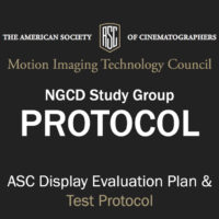 ASC Display Evaluation Plan & Test Protocol