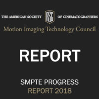 ASC Motion Imaging Technology Council Progress Report 2018