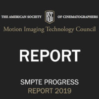 ASC Motion Imaging Technology Council Progress Report 2019