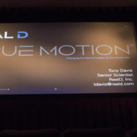 RealD's TrueMotion for Multiple Frame Rate Options