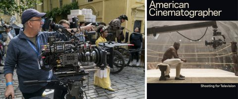 New July Issue Features TV Production and Visualizing Sci-Fi