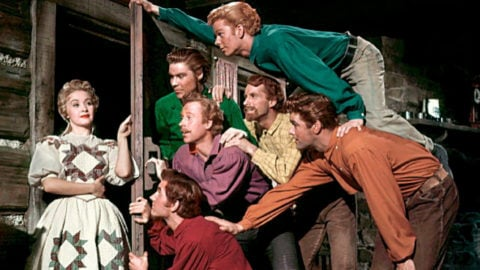 Seven Brides for Seven Brothers:Simultaneous Production Shooting In CinemaScope and Widescreen