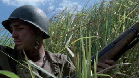 Beyond the Frame: The Thin Red Line