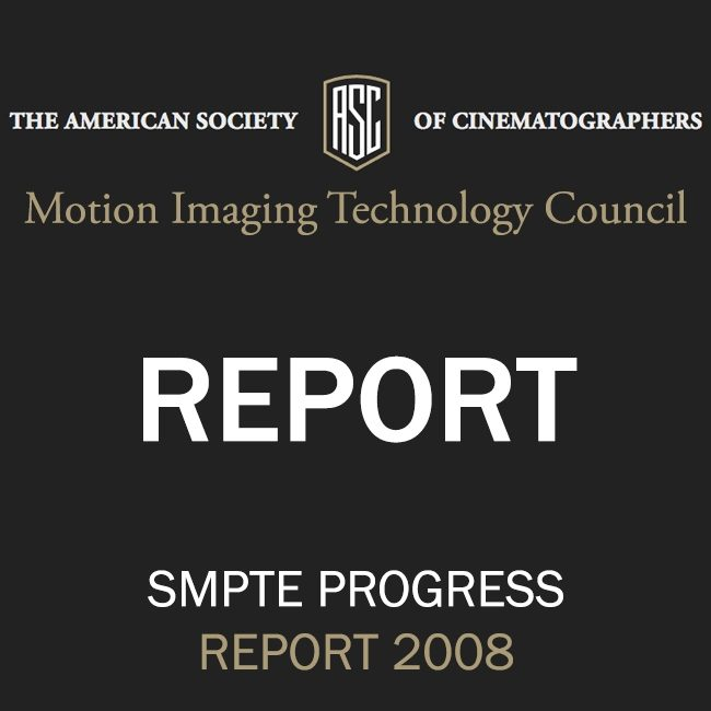 ASC Technology Committee Progress Report 2008