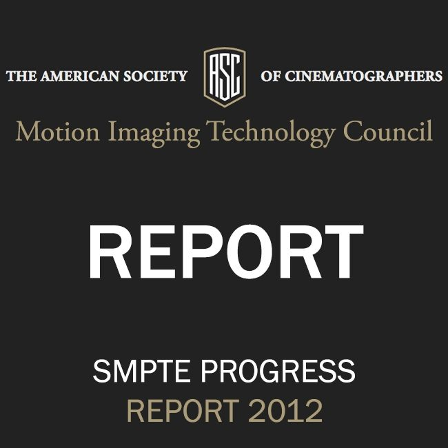 ASC Technology Committee Progress Report 2012