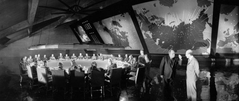 Wrap Shot:Dr. Strangelove: Or How I Learned to Stop Worrying and Love the Bomb