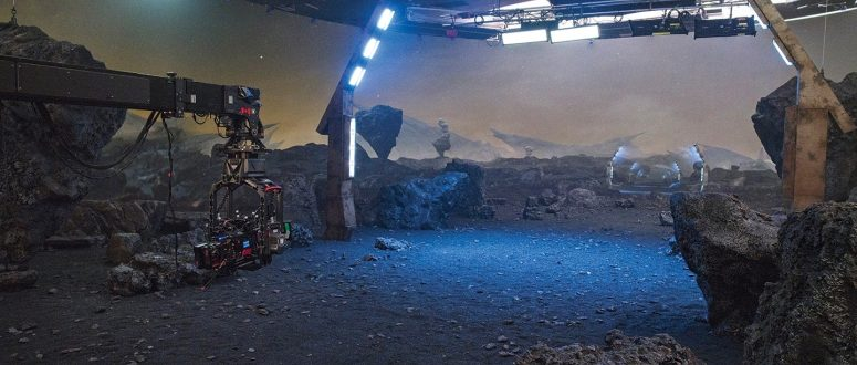On The Walls:Virtual Production for Series Shooting