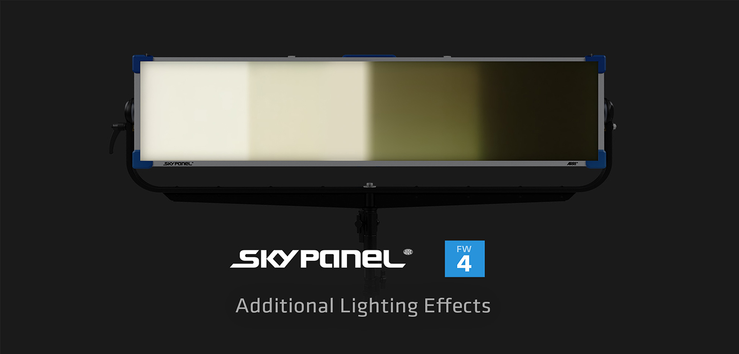 Arri Skypanel Lighting Effects Header