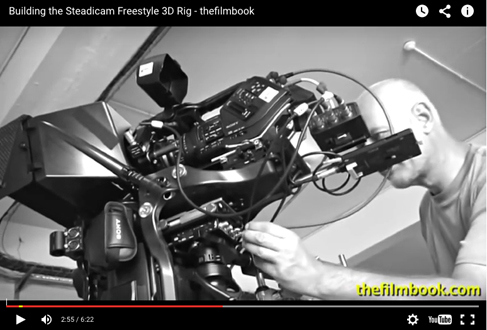 building steadicam freestyle 3D rig video -by benjamin b -thefilmbook