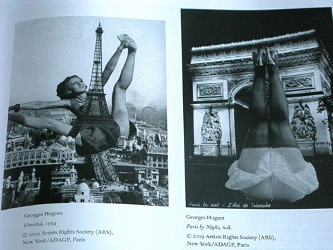 Untitled and Paris by Night, Georges Hugnet.