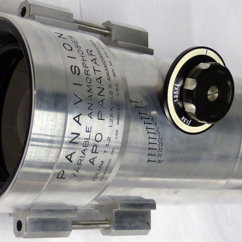 135 APV variable anamorphoser can squeeze from 1.25 to 1.5