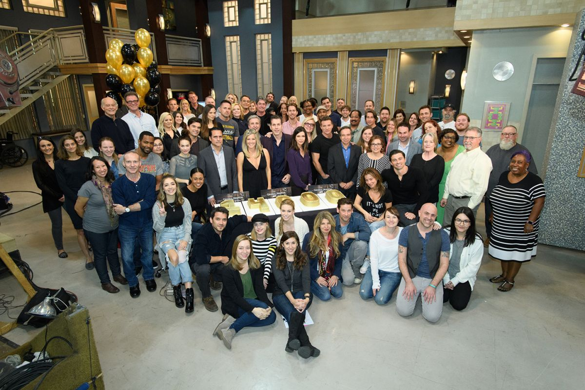 In February of 2018, cast and crew celebrated the shooting of the 14,000th episode of the longest-running American soap opera currently on television.