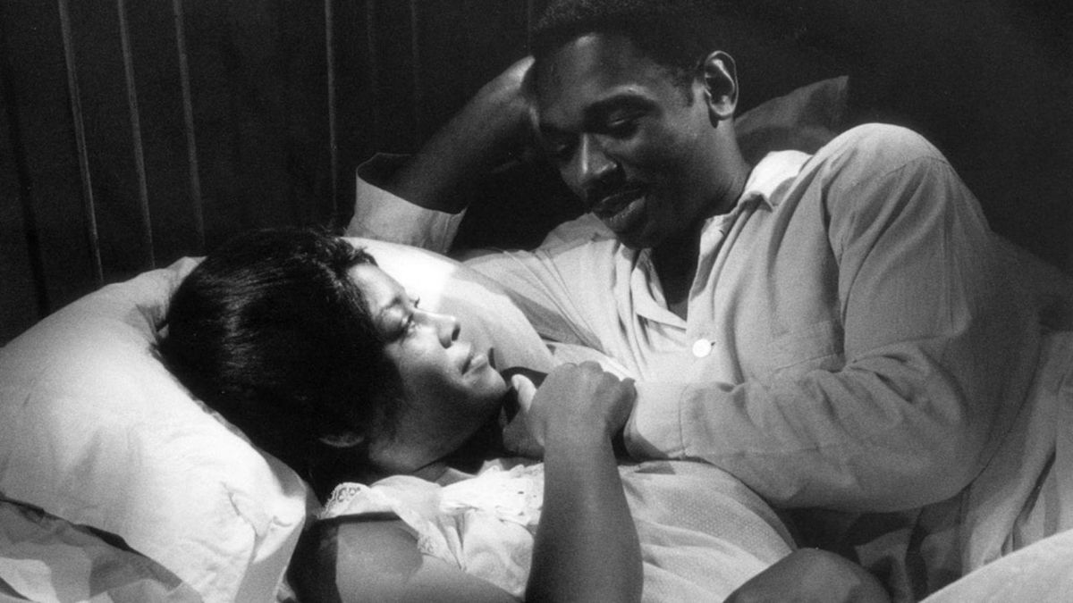 Josie (Abbey Lincoln) and Duff (Ivan Dixon).