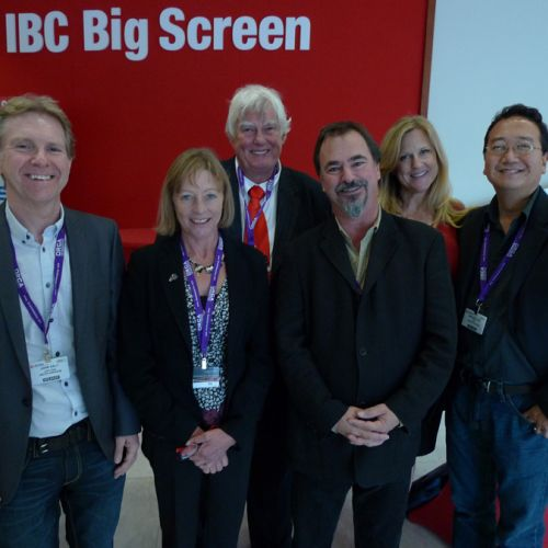 2009 IBC Big Screen panelists -thefilmbook